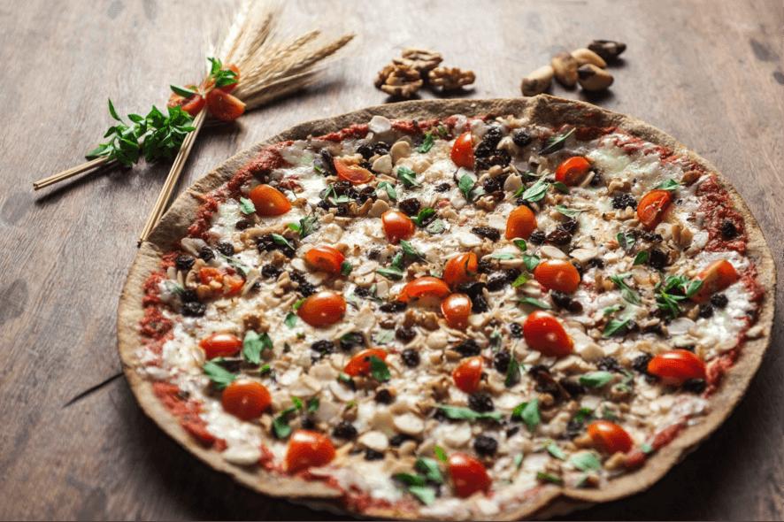 5 pizza pra quem quer manter a forma - Massa Finna
